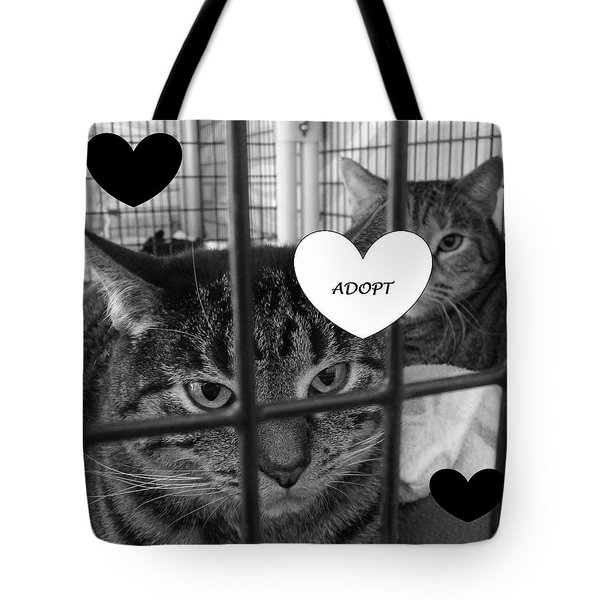 Adopt Tote Bag by Mary Ellen Frazee