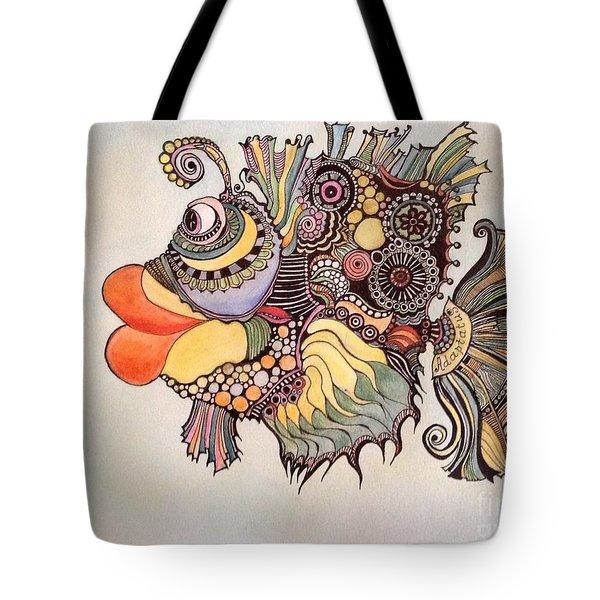 Adaptatus The Fish Tote Bag