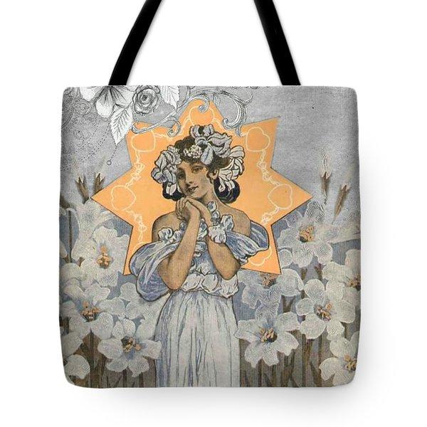 Adoration Art Deco Tote Bag