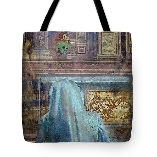 Adoration Chapel 3 Tote Bag