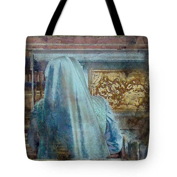 Tote Bag featuring the photograph Adoration Chapel 3 by Kate Word