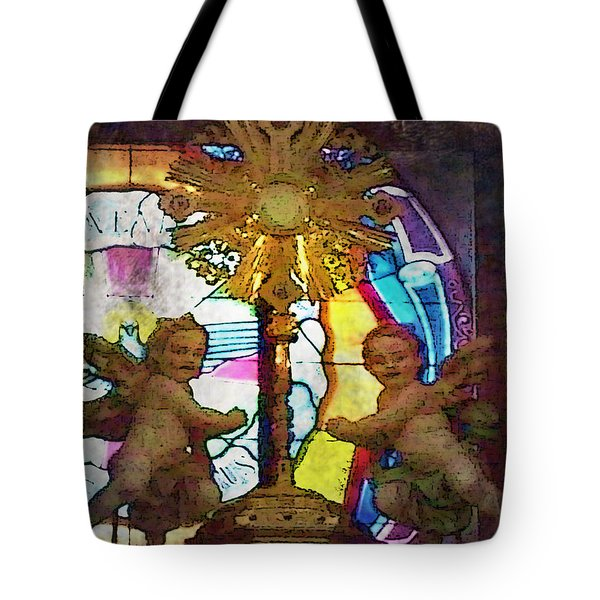 Adoration Chapel 4 Tote Bag