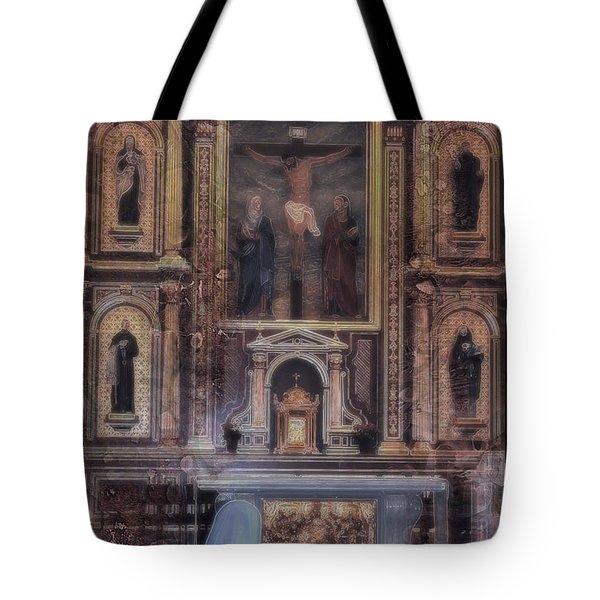 Adoration Chapel 5 Tote Bag