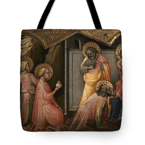Adoration Of The Kings Tote Bag by Granger