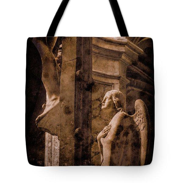 Paris, France - Adoring Angel Tote Bag