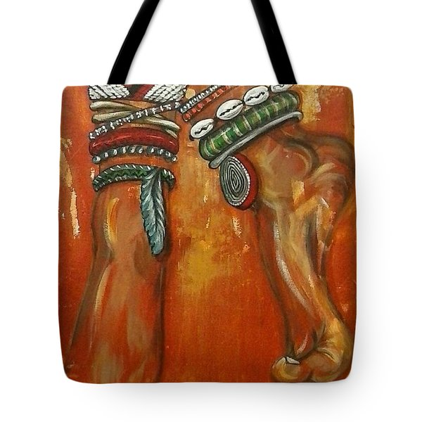 Adornment Tote Bag by Jenny Pickens