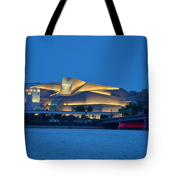 Adrienne Arsht Center 2 Tote Bag
