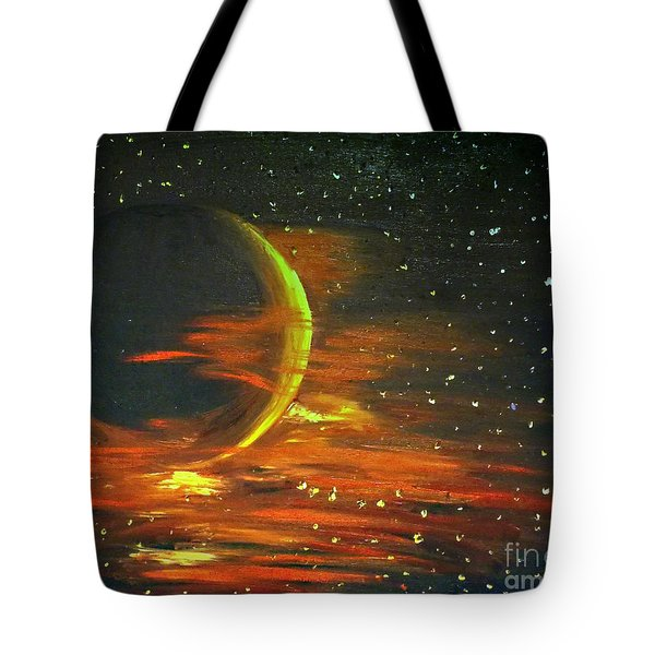 Adrift - In Space Tote Bag