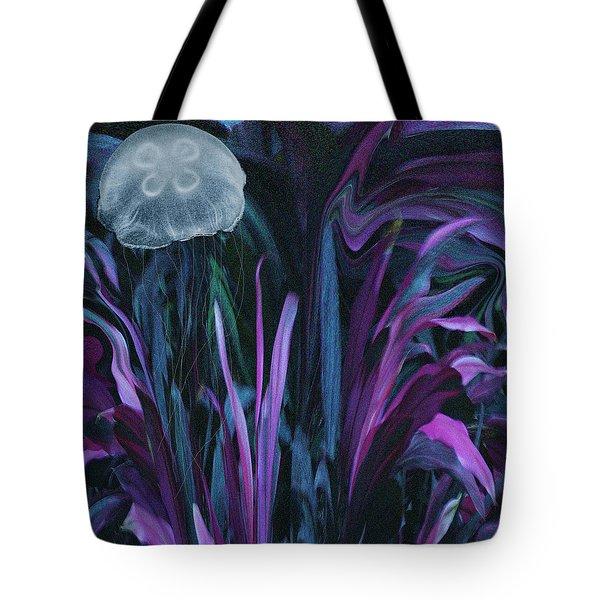 Adrift In The Mermaid Cafe Tote Bag