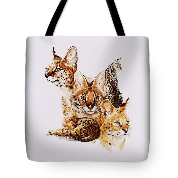 Tote Bag featuring the drawing Adroit by Barbara Keith