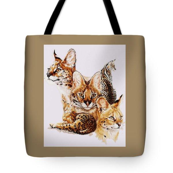 Adroit Tote Bag by Barbara Keith
