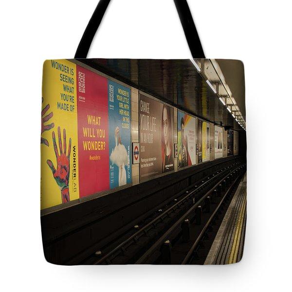 Ads Underground Tote Bag