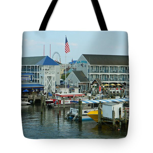 Adult Fun - Ocean City Md Tote Bag by Emmy Marie Vickers