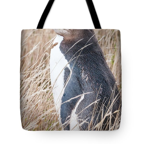 Adult Yellow-eyed Penguin 2 Tote Bag