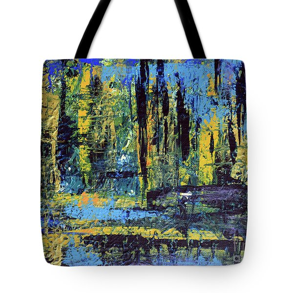 Adventure II Tote Bag by Cathy Beharriell