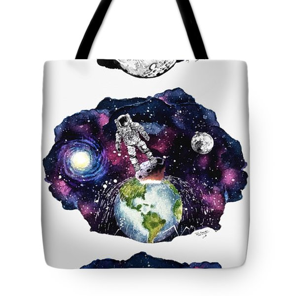 Adventures Of The Starman Tote Bag