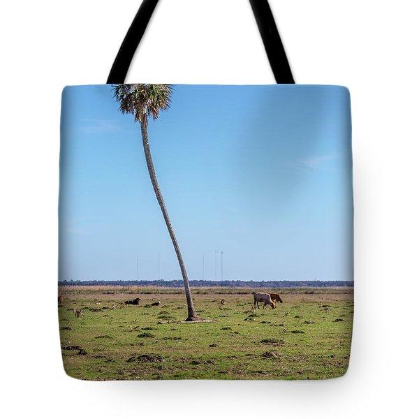 Adventurous  Sabal Tote Bag