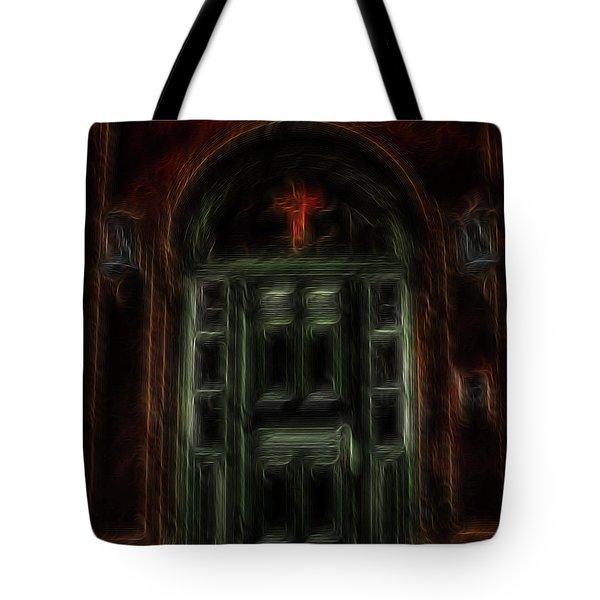 Adytum Tote Bag by William Horden