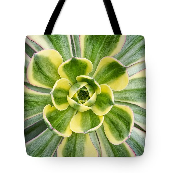 Aeonium Sunburst Tote Bag