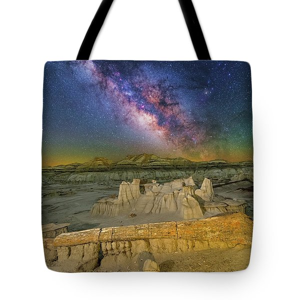 Aeons Of Time Tote Bag