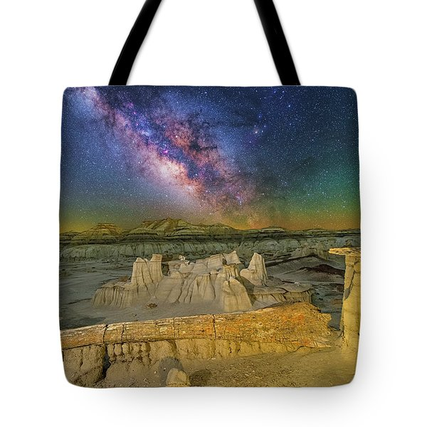 Aeons Of Time Tote Bag