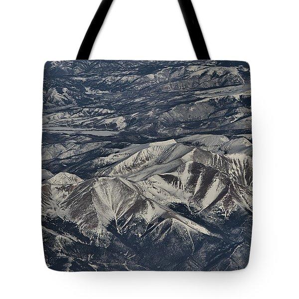 Aerial 4 Tote Bag