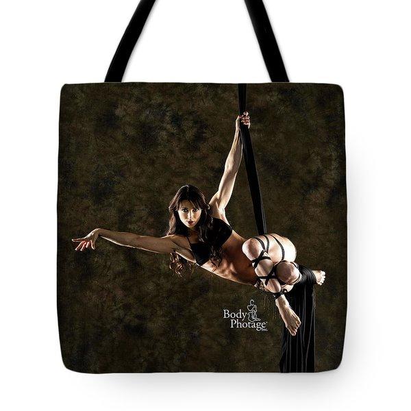 Aerial Ninja Tote Bag
