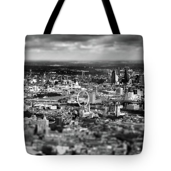 Aerial View Of London 6 Tote Bag