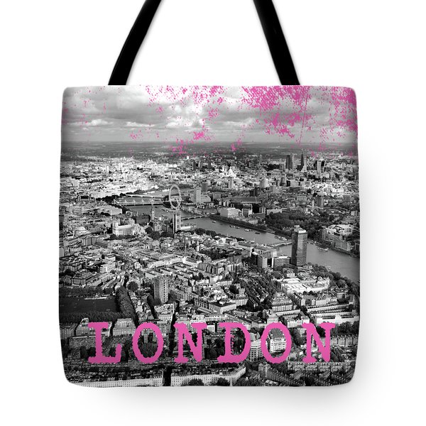 Aerial View Of London Tote Bag