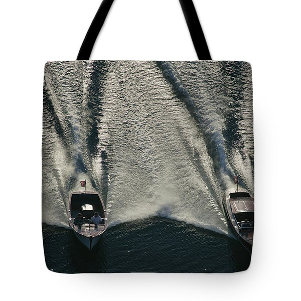 Aerial Wash Tote Bag
