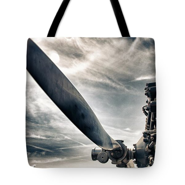 Aero Machine Tote Bag by Nathan Larson