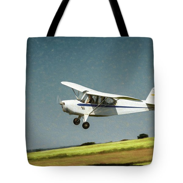 Tote Bag featuring the photograph Aeronca 7a C by James Barber