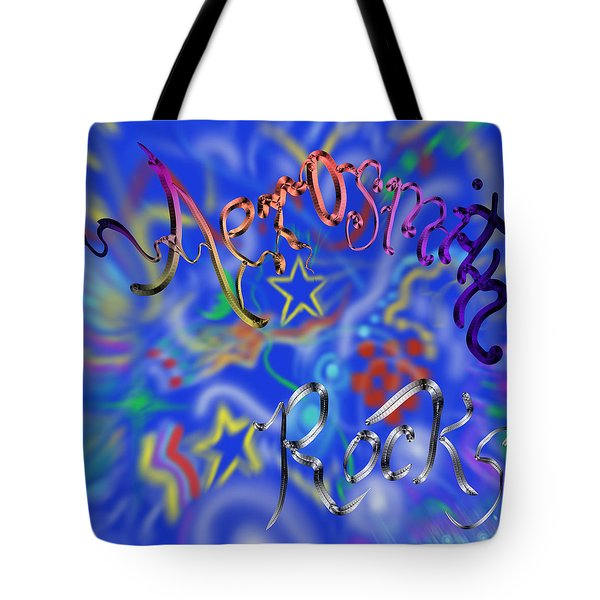 Aerosmith  Tote Bag by Kevin Caudill