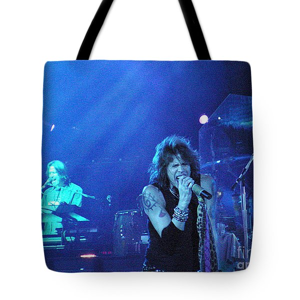 Aerosmith-steven Tyler-00107 Tote Bag by Gary Gingrich Galleries