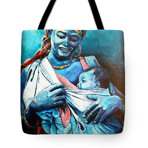 Affection Tote Bag by Bankole Abe