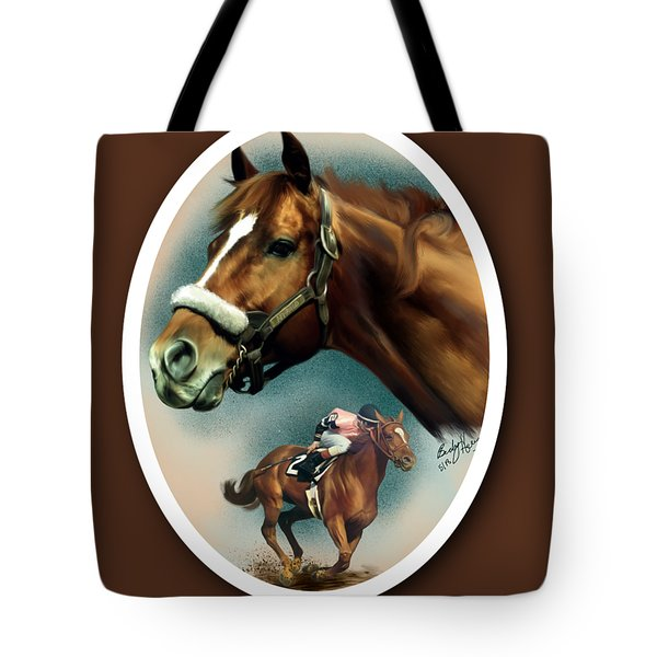 Affirmed With Name Decor Tote Bag