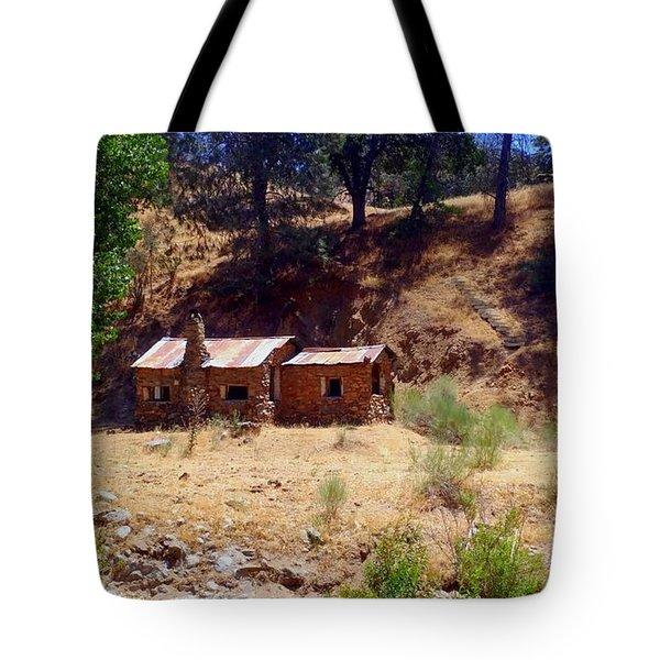 Cozy Cabin Kern County California Tote Bag
