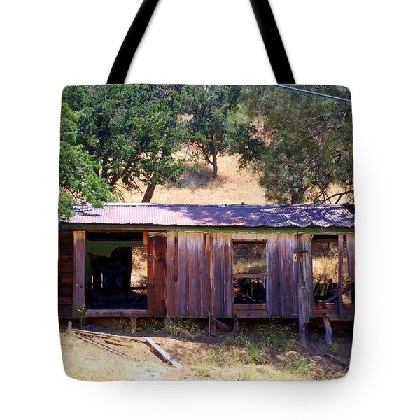 Cozy Cottage Kern County Tote Bag