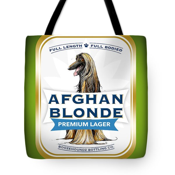 Afghan Blonde Premium Lager Tote Bag