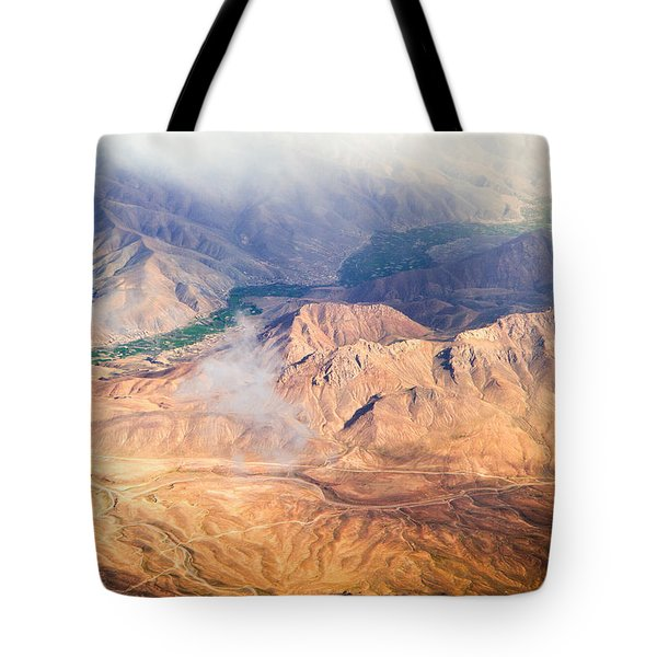 Afghan Valley At Sunrise Tote Bag