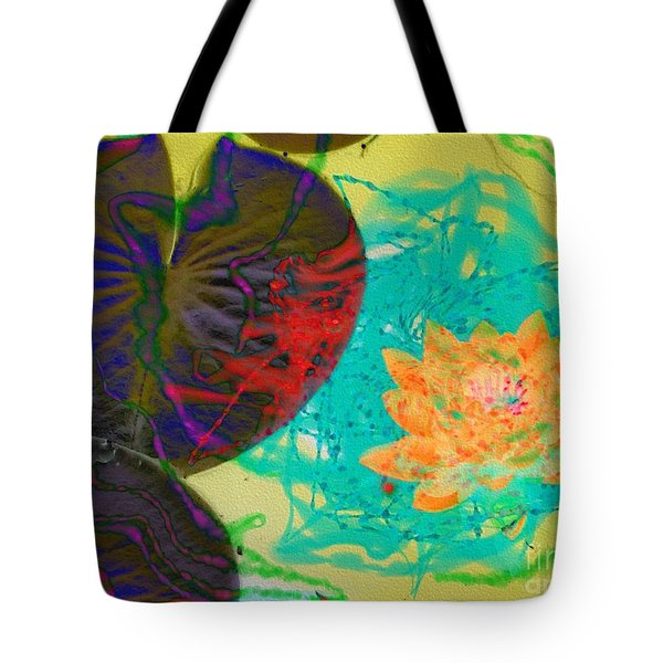 Tote Bag featuring the photograph Afloat by Kathie Chicoine