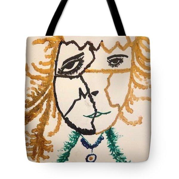 Afraid  Tote Bag