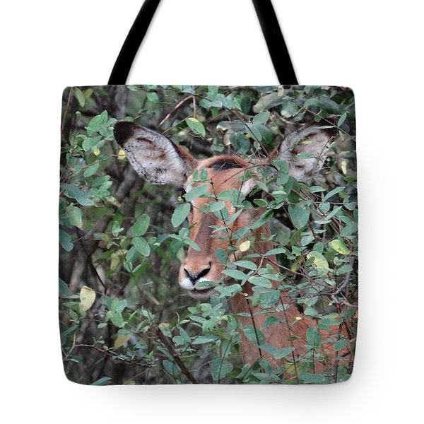 Africa - Animals In The Wild 4 Tote Bag
