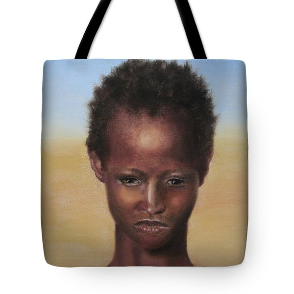 Tote Bag featuring the painting Africa by Annemeet Hasidi- van der Leij
