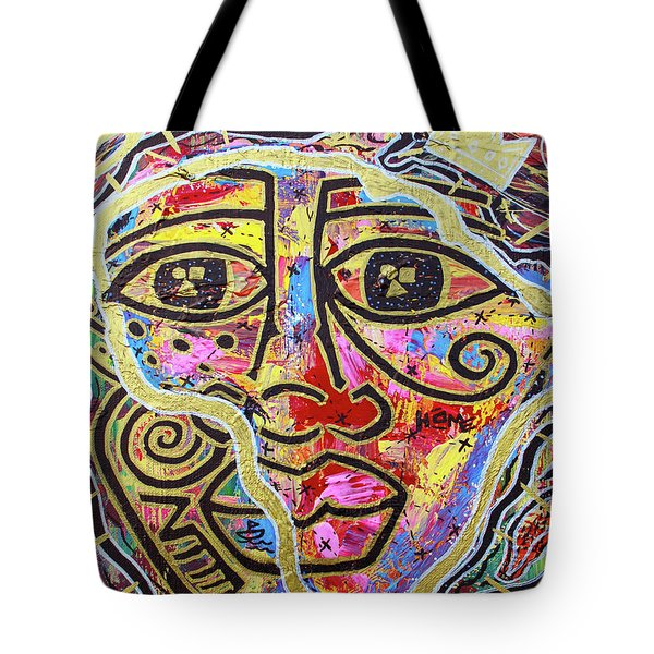 Africa Center Of The World Tote Bag
