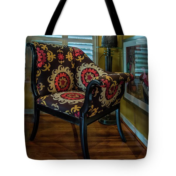 African Accent Furniture Tote Bag