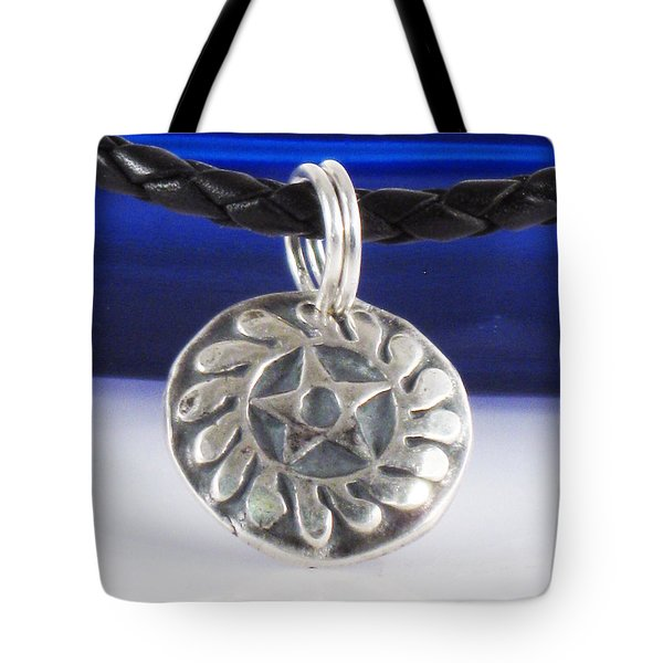 African Adinkra - New Beginnings Pendant Tote Bag