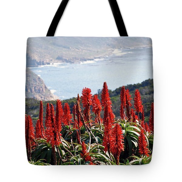 African Aloe And False Bay Tote Bag