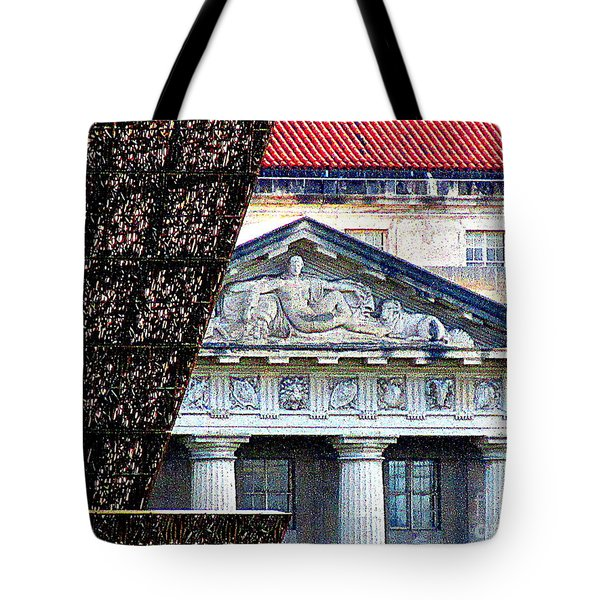 African American History And Culture 5 Tote Bag by Randall Weidner