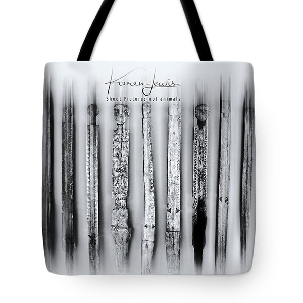 Tote Bag featuring the photograph African Artefacts by Karen Lewis